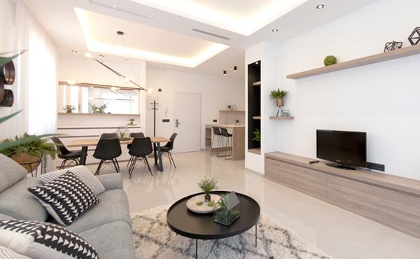 Villas y apartamentos