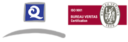Q of Quality and ISO Certificate 9001 Bureau Veritas