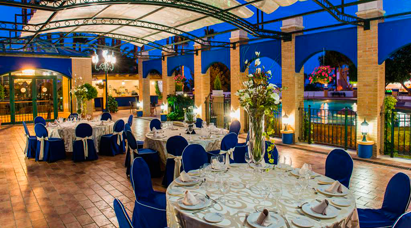Pool Terrace Celebrations Hotel La Laguna