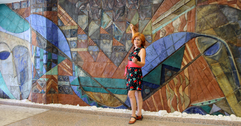 La historia jamás contada de los murales del Hotel La Laguna Spa & Golf